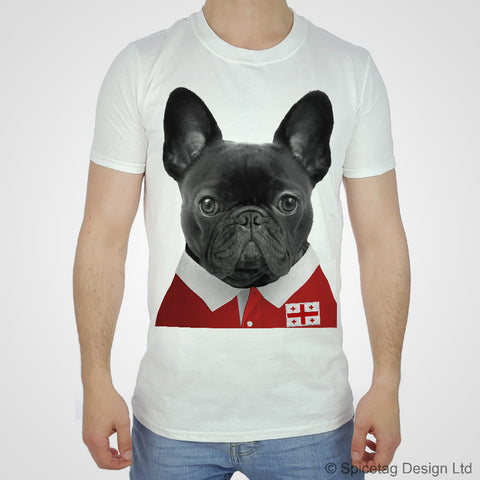 Georgia Rugby Frenchie T-shirt