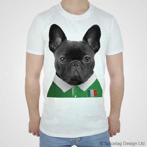 Ireland Rugby Frenchie T-shirt