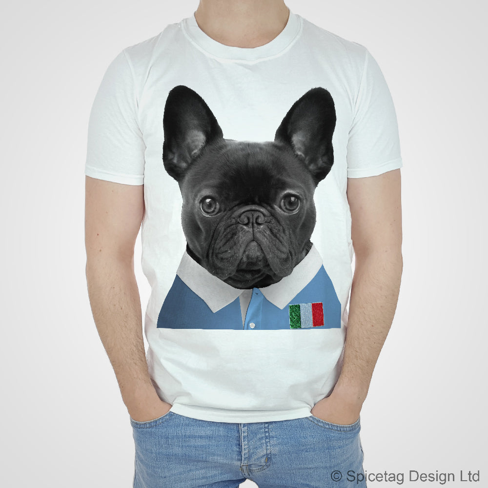 Italy Rugby Frenchie T-shirt