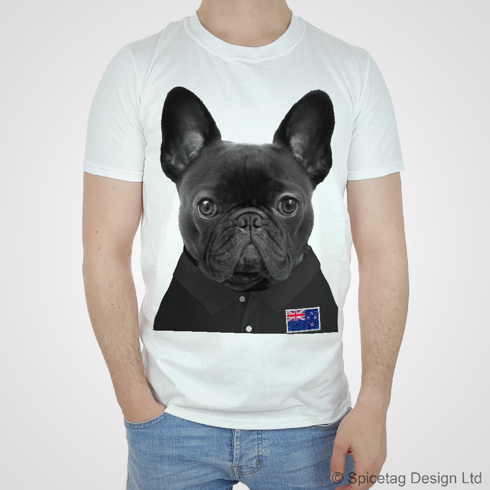 New Zealand Rugby Frenchie T-shirt