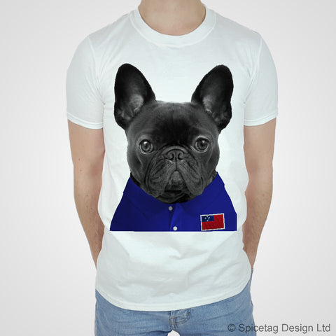 Samoa Rugby Frenchie T-shirt