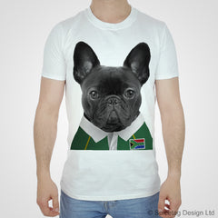 South Africa Rugby Frenchie T-shirt