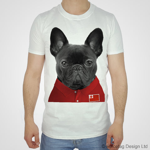 Tonga Rugby Frenchie T-shirt