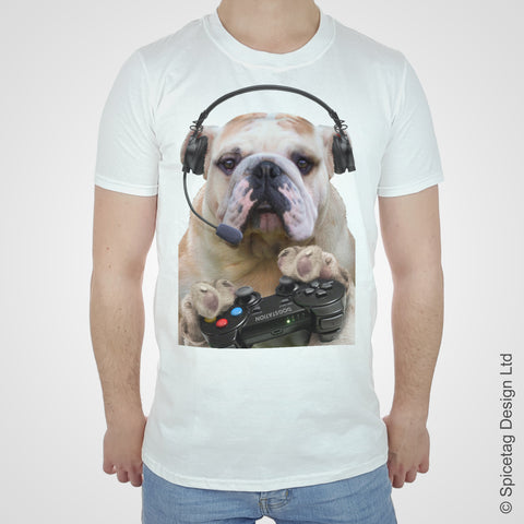 Gaming Bulldog T-shirt