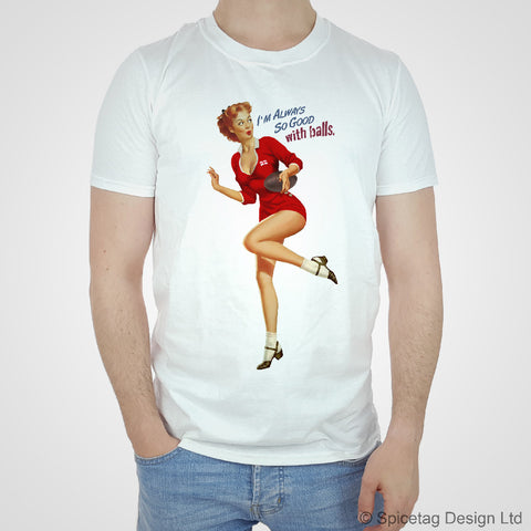 Pin-Up Georgia Rugby T-shirt