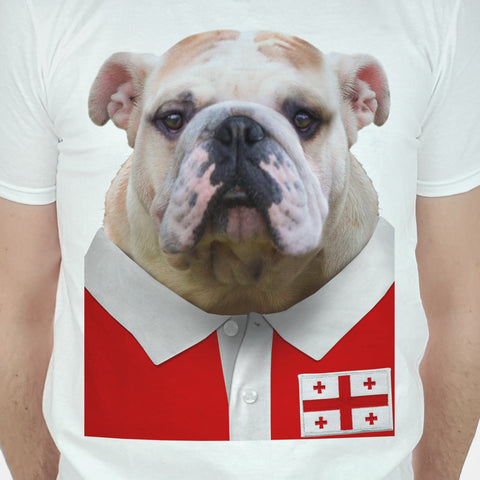 Georgia Rugby Bulldog T-shirt