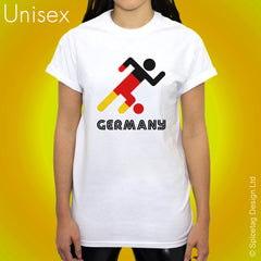 Germany Retro Football T-shirt