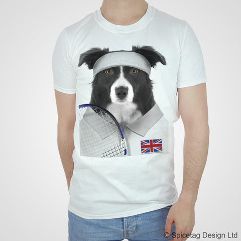 GB Tennis Collie T-shirt