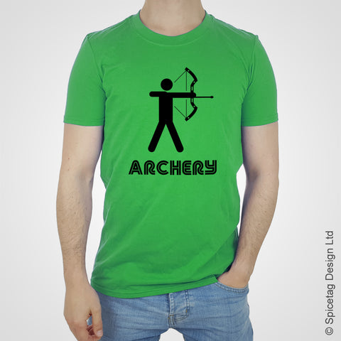 Archery archer T-shirt Tshirt T shirt Tee clothing clothes fashion style sport sports fan olympics athletics track field health fitness world competition champion
