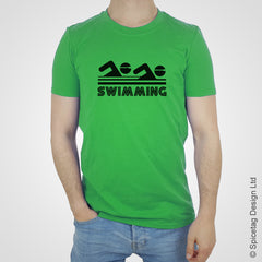 Swimming swimmer swim water T-shirt Tshirt T shirt Tee clothing clothes fashion style sport sports fan olympics athletics track field health fitness world competition champion