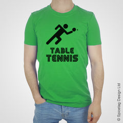 Table tennis T-shirt Tshirt T shirt Tee clothing clothes fashion style sport sports fan olympics athletics track field health fitness world competition champion