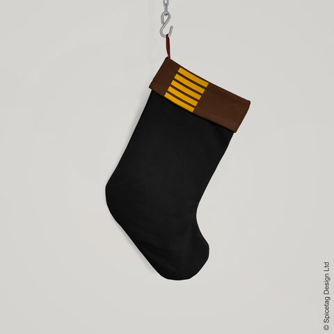 Brown Smuggler Christmas Stocking