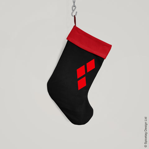 Harlequin Christmas Stocking