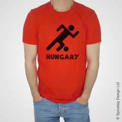 Hungary Retro Football T-shirt