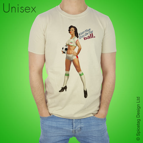 Pin-Up Iran Football T-shirt