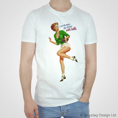 Pin-Up Ireland Rugby T-shirt