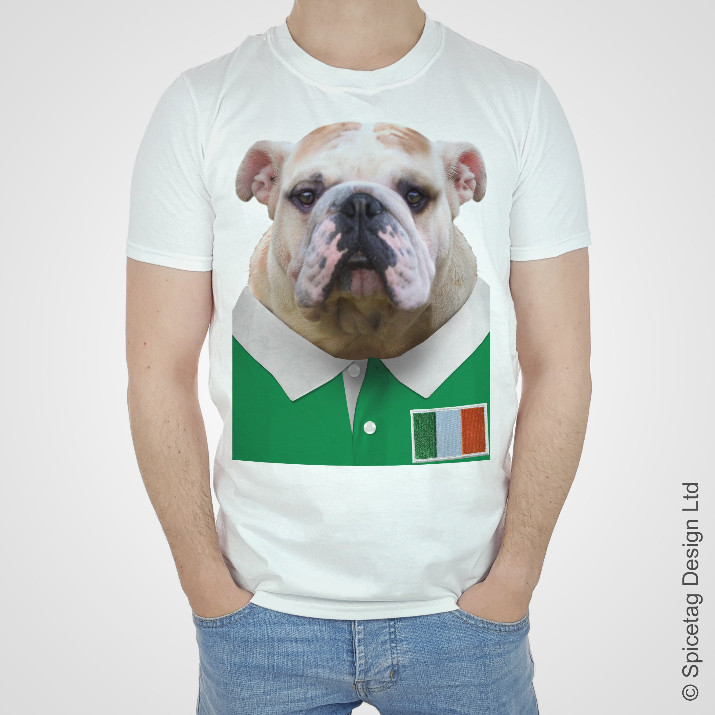 Ireland Rugby Bulldog T-shirt