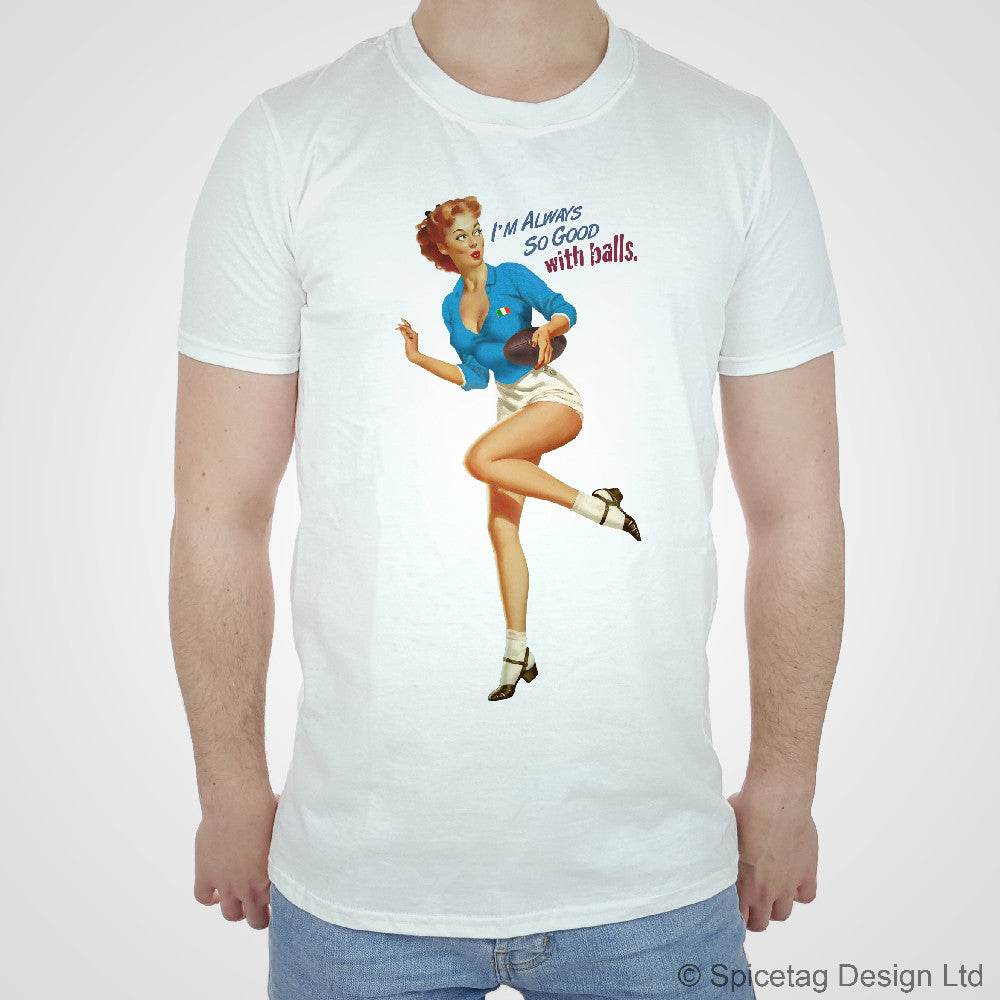 Pin-Up Italy Rugby T-shirt