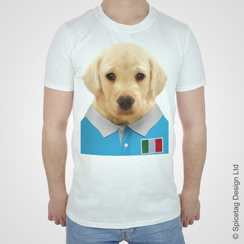 Labrador Italy Rugby T-shirt