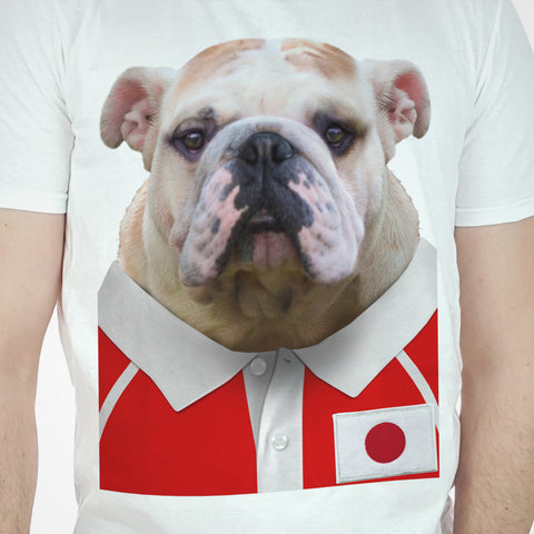Japan Rugby Bulldog T-shirt