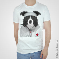 Japan Tennis Collie T-shirt