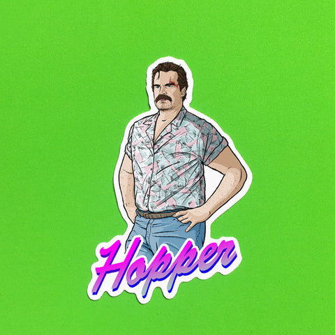 Hopper Sticker