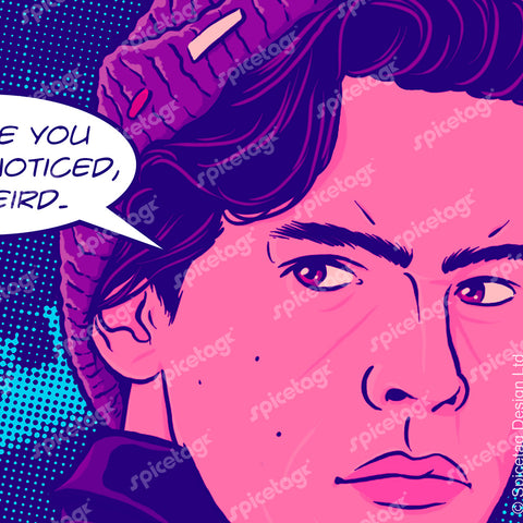 Jughead Pop Art Square Print