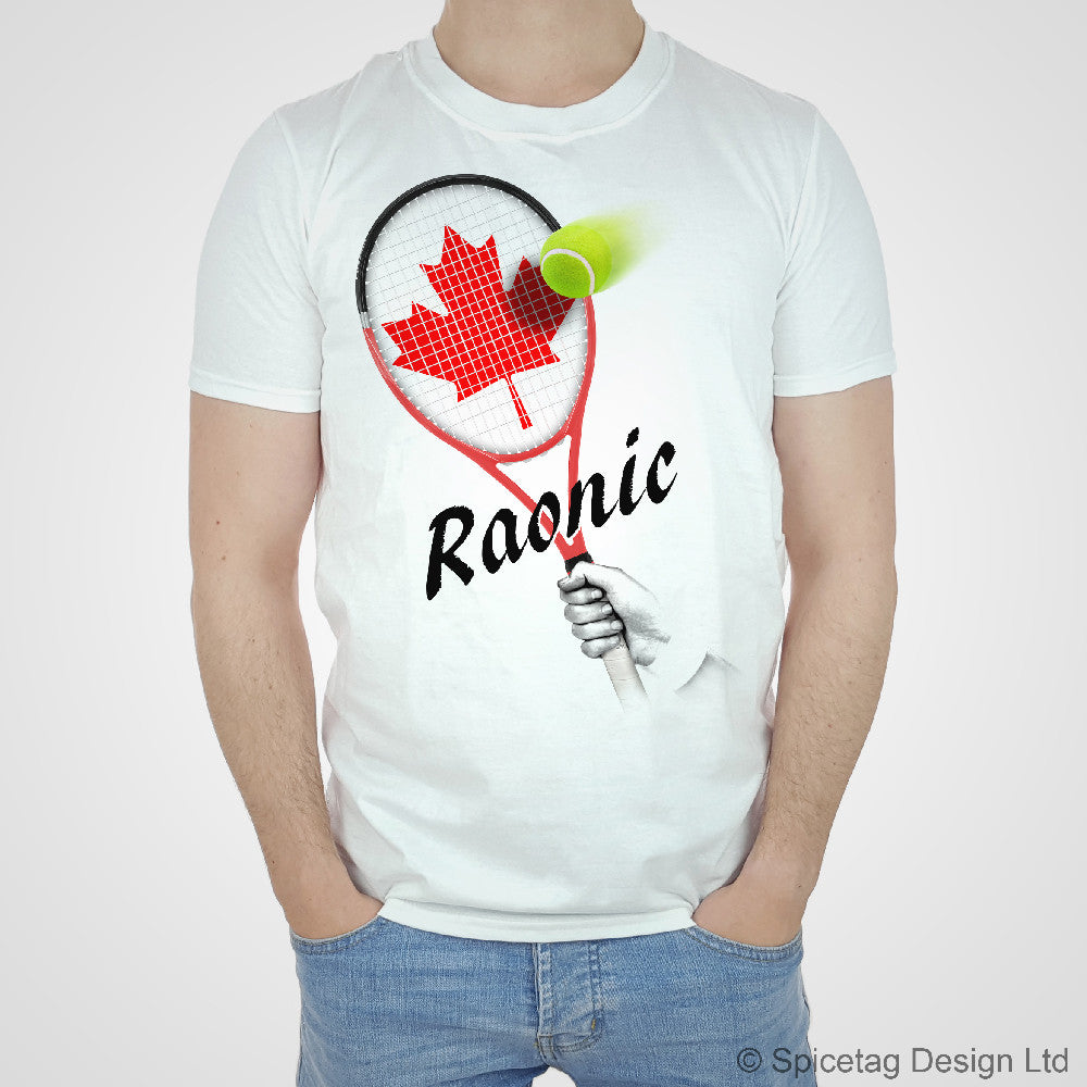 Raonic Racket T-shirt