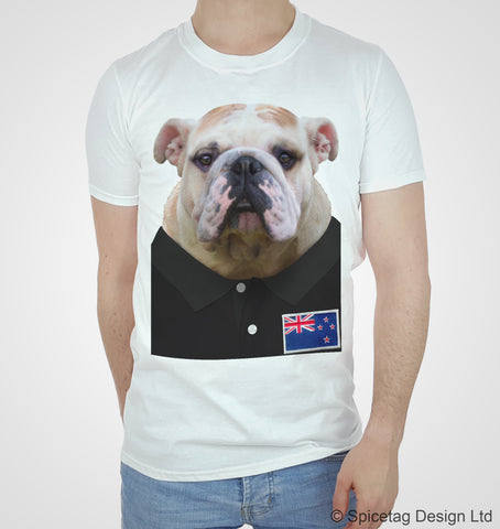 New Zealand Rugby Bulldog T-shirt
