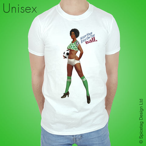 Pin-Up Nigeria Football T-shirt