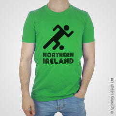 Northern Ireland Retro Football T-shirt
