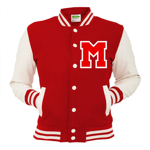 Personalised Red Varsity Jacket