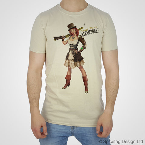 Pin-Up Steampunk Girl T-shirt