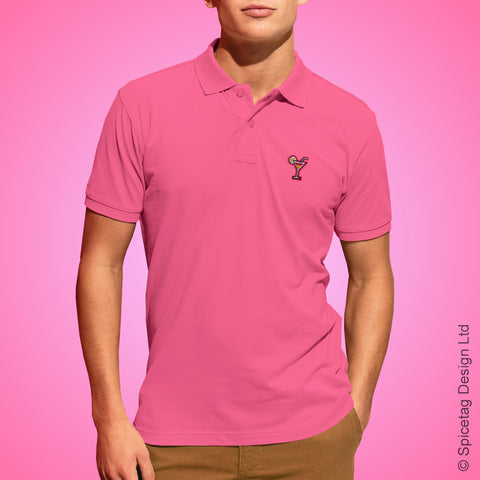 Cocktail Polo Shirt