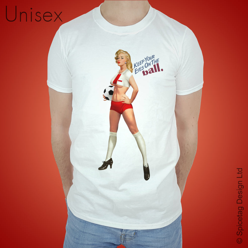 Pin-Up Poland Football T-shirt