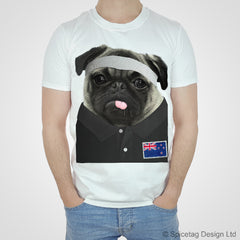 New Zealand Rugby Pug T-shirt