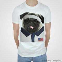 USA Rugby Pug T-shirt