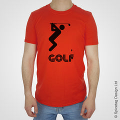 Golf T-shirt golfer open club Tshirt T shirt Tee clothing clothes fashion style sport sports fan olympics athletics track field health fitness world competition champion