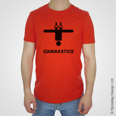 Gymnastics gymnast gym acrobat T-shirt Tshirt T shirt Tee clothing clothes fashion style sport sports fan olympics athletics track field health fitness world competition champion
