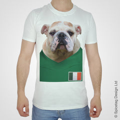 Ireland Football Bulldog T-shirt