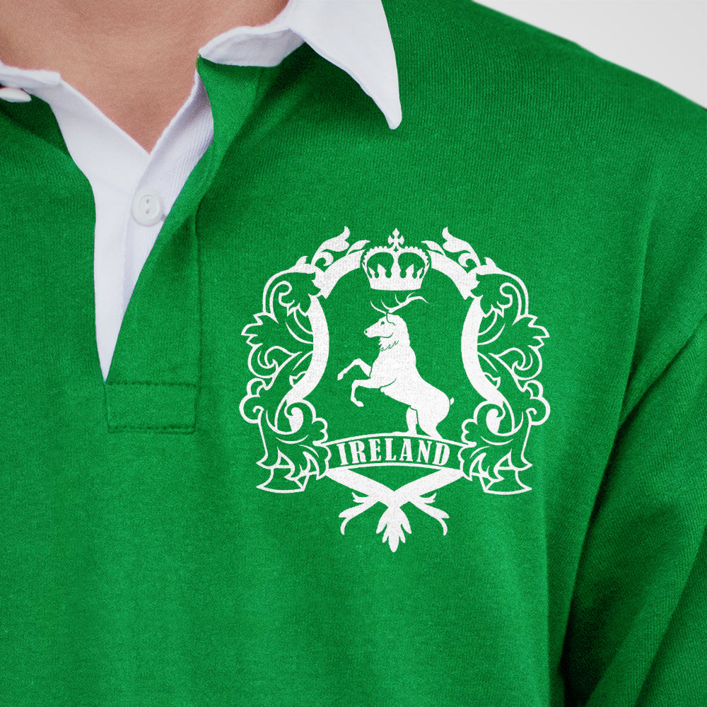 Retro Classic Vintage 1970s Ireland Rugby t shirt