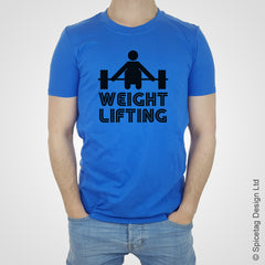 Weight lifting T-shirt bodybuilding muscle gym fitness Tshirt T shirt Tee clothing clothes sport champion mr olympia