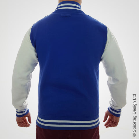 Royal Blue Varsity Jacket
