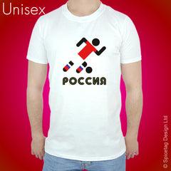 Russia Retro Football T-shirt