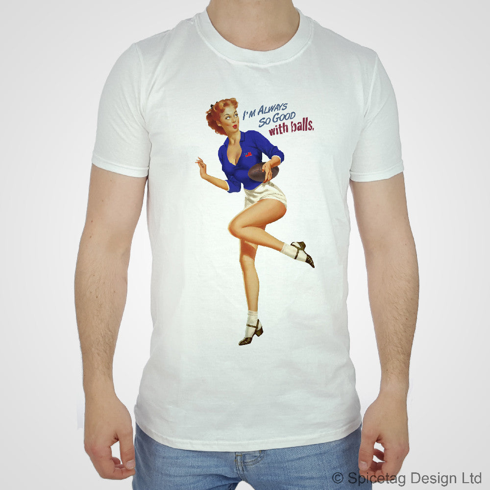 Pin Up Samoa Rugby T Shirt Spicetag