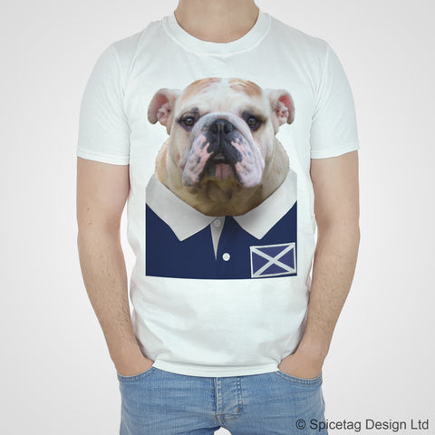 Scotland Rugby Bulldog T-shirt