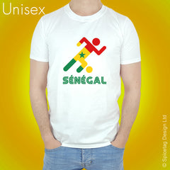 Senegal Retro Football T-shirt