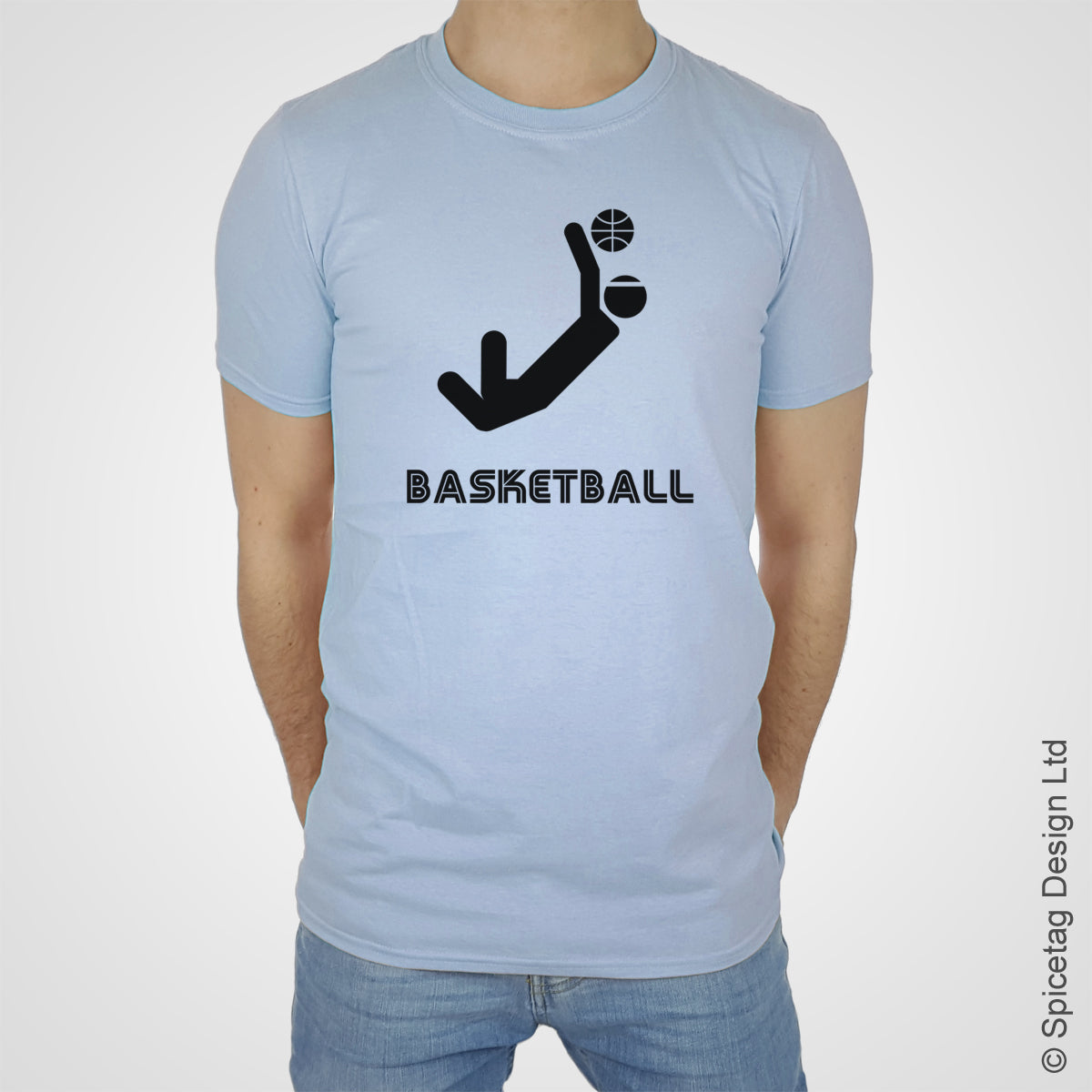 Basketball baller ball T-shirt Tshirt T shirt Tee clothing clothes fashion style sport sports fan olympics athletics track field health fitness world competition champion