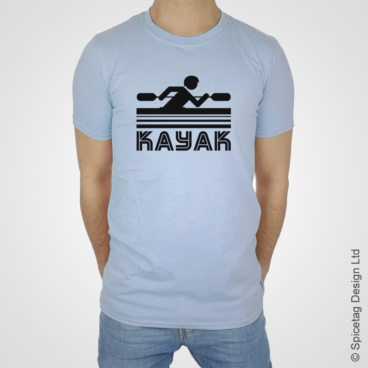 Kayak canoe water T-shirt Tshirt T shirt Tee clothing clothes fashion style sport sports fan olympics athletics track field health fitness world competition champion