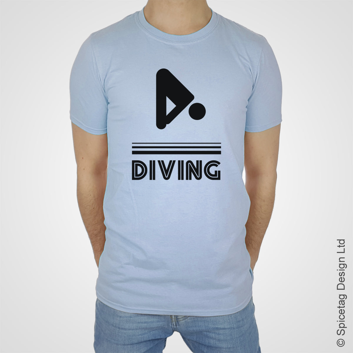 Colours diving dive swim swimming T-shirt Tshirt T shirt Tee clothing clothes fashion style sport sports fan olympics athletics track field health fitness world competition champion